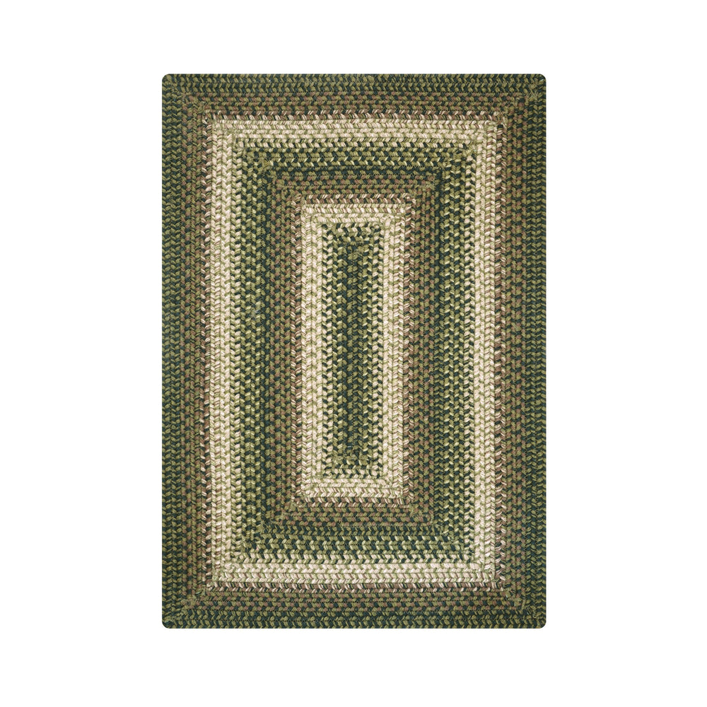Homespice Decor Northwoods Ultra Wool Braided Rug