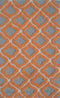 The Rug Market Marrakesh Orange PA0015 Area Rug