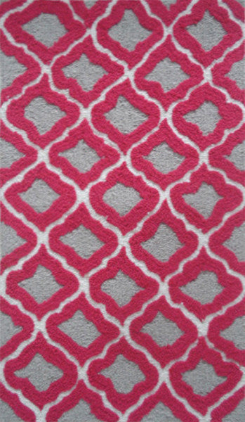 The Rug Market Marrakesh Raspberry PA0016 Area Rug