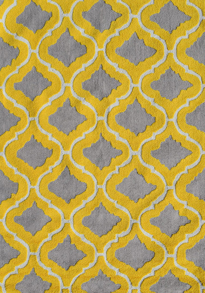The Rug Market Marrakesh Yellow PA0017D Area Rug