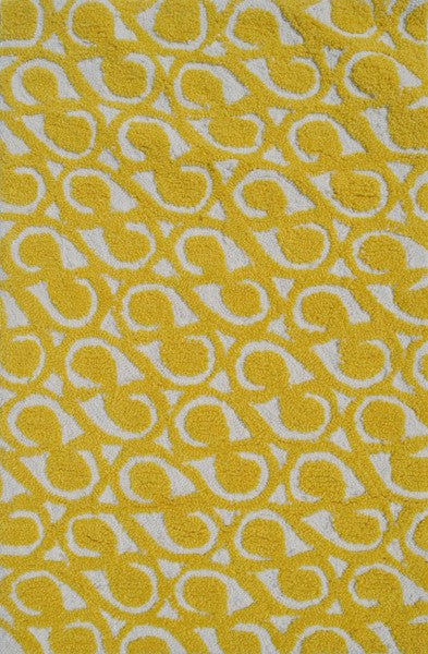 The Rug Market Yang Yellow PA0068 Area Rug