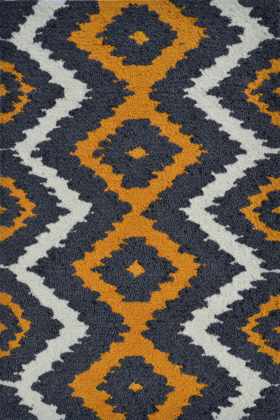 The Rug Market Ziggy Yellow PA0083 Area Rug