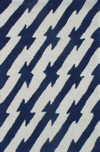 The Rug Market Caddy Navy PA0087 Area Rug