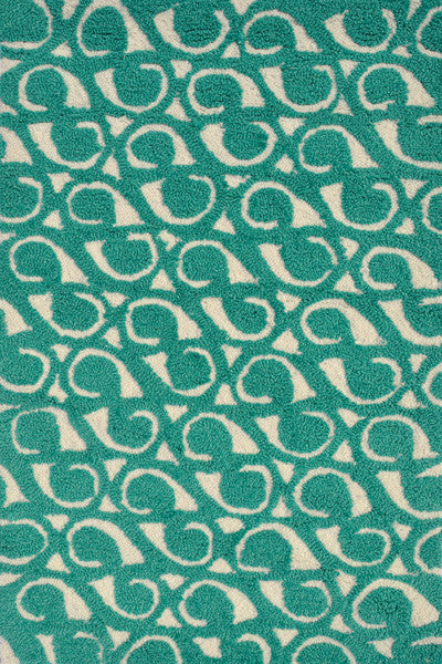 The Rug Market Yang Teal PA0097 Area Rug