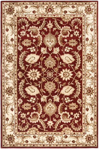 Safavieh Royalty ROY244B Red / Ivory Rug