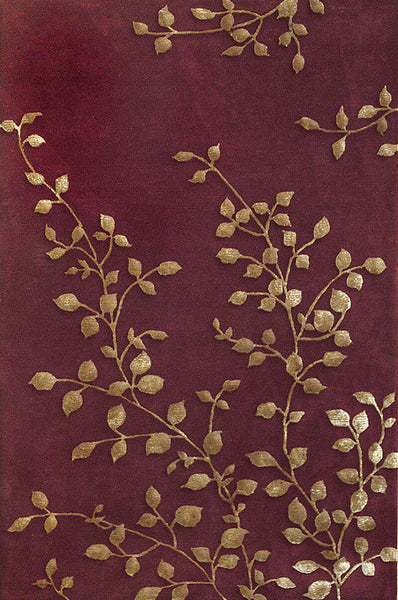 Rug Market Closeout Golden Leaves