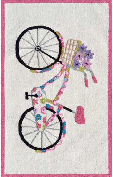 Rug Market Kids Flower Bike