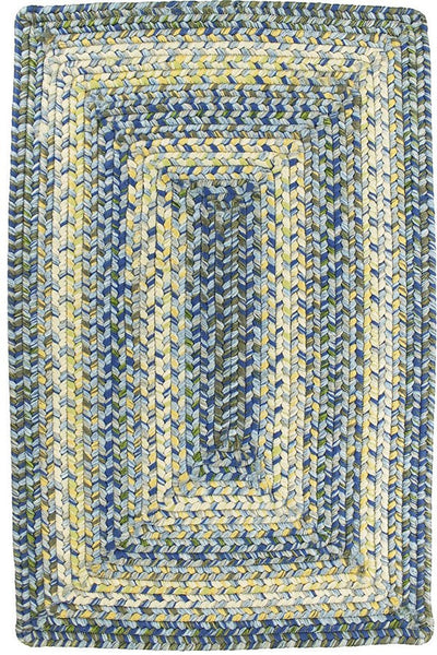 Homespice Decor Aegean Sea Indoor/Outdoor Braided Rug