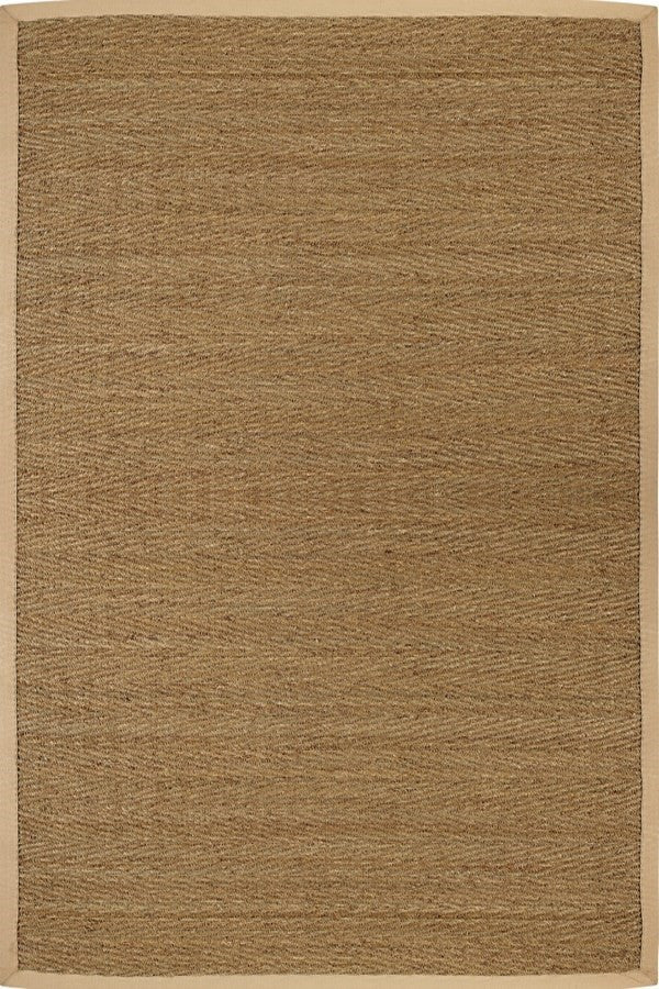 Anji Mountain Saddleback Seagrass Rug - Sky Home Decor