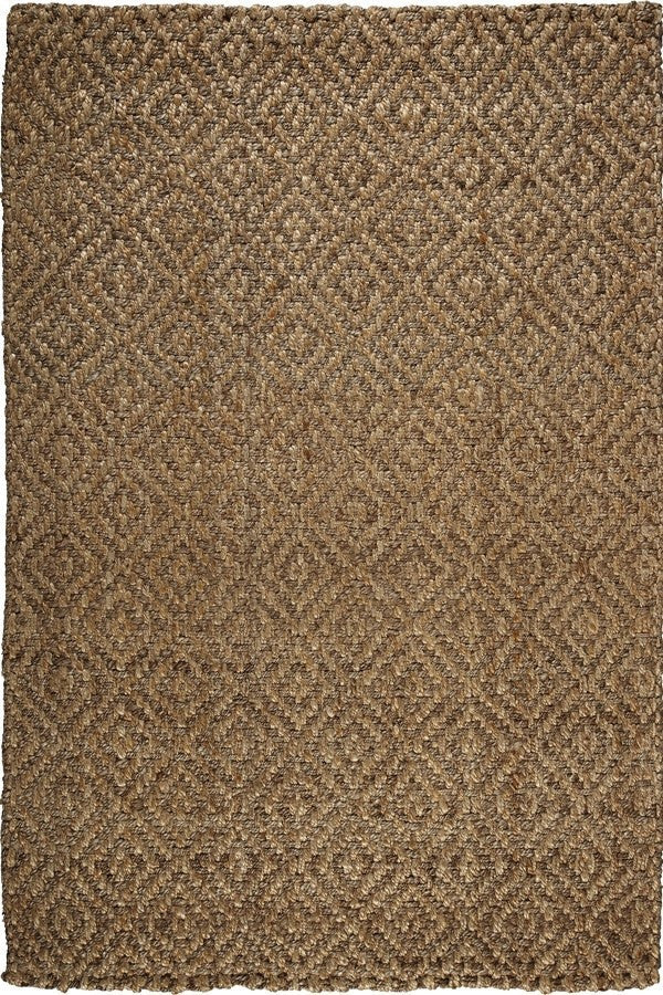 Anji Mountain Perfect Diamond Jute Area Rug - Sky Home Decor