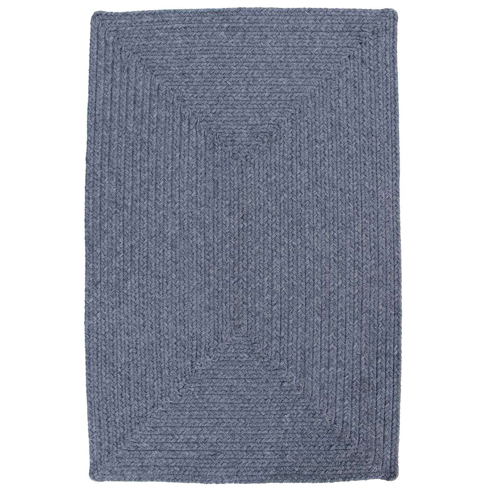 Homespice Decor Azure Indoor/Outdoor Braided Rug - Sky Home Decor