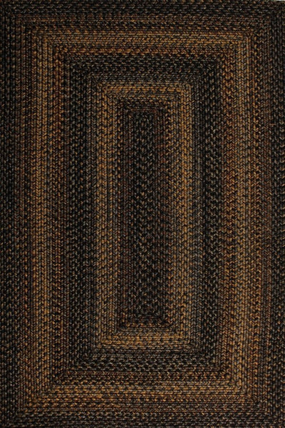 Homespice Decor Black Forest Indoor/Outdoor Braided Rug