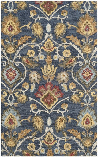 Safavieh Blossom Blm402a Navy Multi Rug Rug Savings