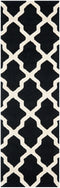 Safavieh Cambridge CAM121E Black / Ivory Rug