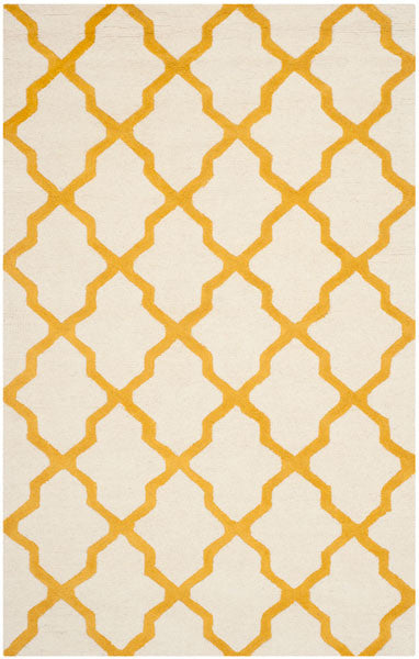 Safavieh Cambridge CAM121U Ivory / Gold Rug