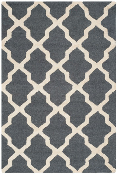 Safavieh Cambridge CAM121X Dark Grey / Ivory Rug