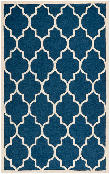 Safavieh Cambridge CAM134G Navy / Ivory Rug