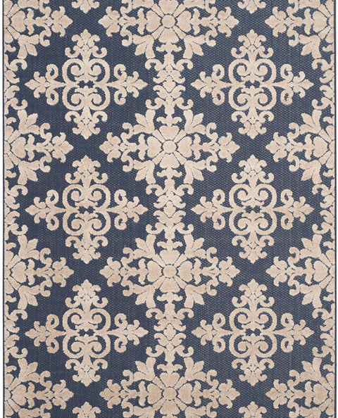 Safavieh Cottage COT906A Navy / Creme Rug
