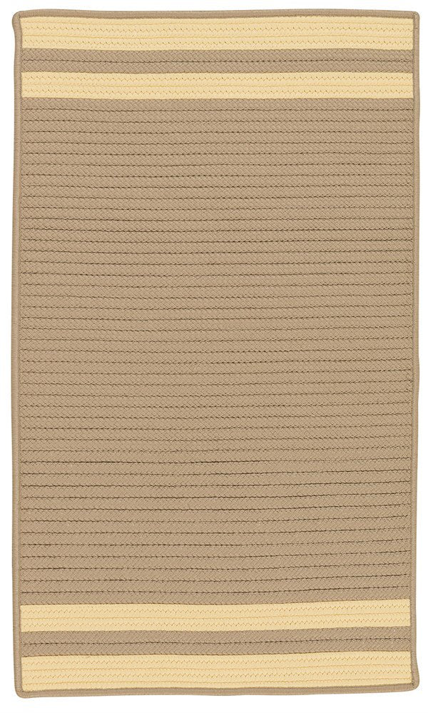 Colonial Mills Denali End Stripe  DE95 Area Rug