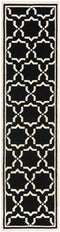Safavieh Dhurries DHU545L Black / Ivory Rug