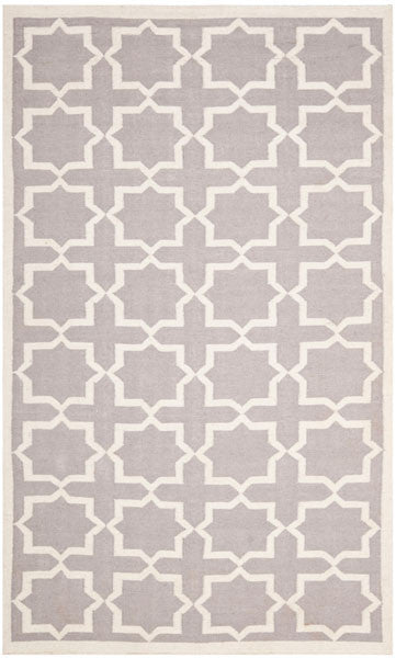 Safavieh Dhurries DHU549G Grey / Ivory Rug