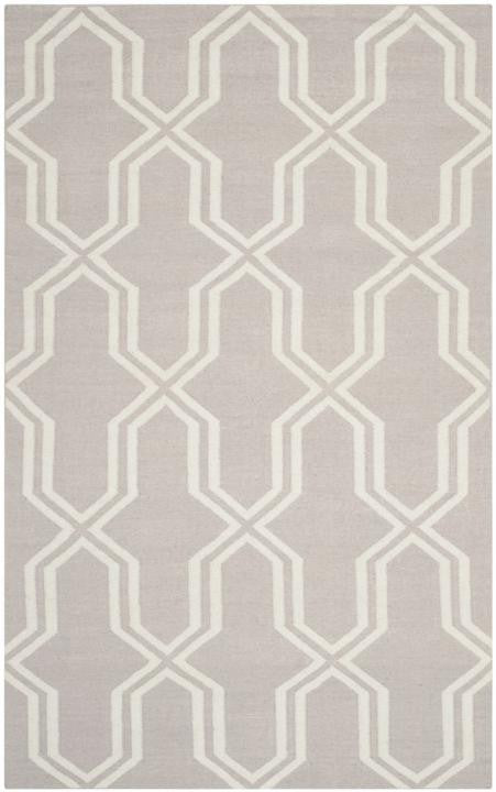 Safavieh Dhurries DHU559G Grey / Ivory Rug