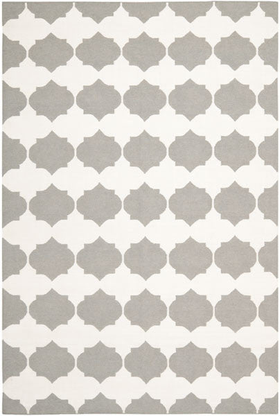 Safavieh Dhurries DHU624B Grey / Ivory Rug