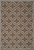 Safavieh Dhurries DHU625C Brown / Ivory Rug