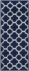 Safavieh Dhurries DHU627D Navy / Ivory Rug