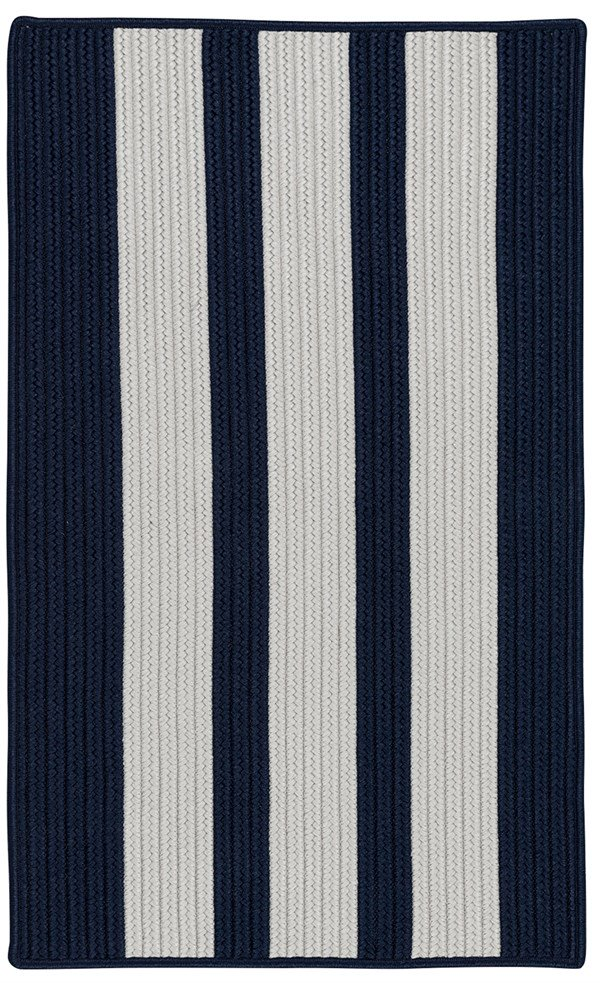 Colonial Mills Everglades Vertical Stripe  EV57 Area Rug