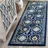 Safavieh Evoke EVK210A Royal Blue / Ivory