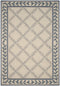 Safavieh Easy Care EZC430A Ivory / Light Blue Rug