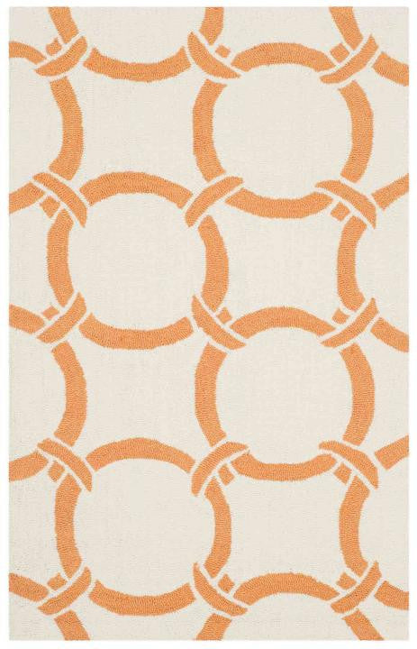 Safavieh Four Seasons FRS243L Ivory / Orange Rug