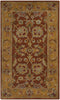 Safavieh Heritage HG820A Red / Natural Rug