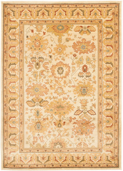 Safavieh Heirloom HLM1741-1111 Creme / Creme Rug