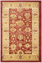 Safavieh Heirloom HLM1741-4020 Red / Gold Rug