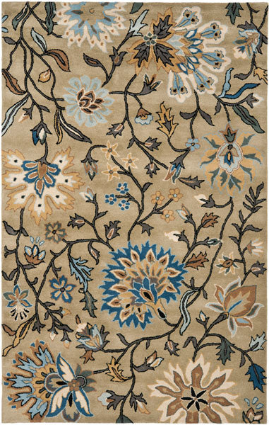 Safavieh Jardin JAR724B Green / Multi Rug