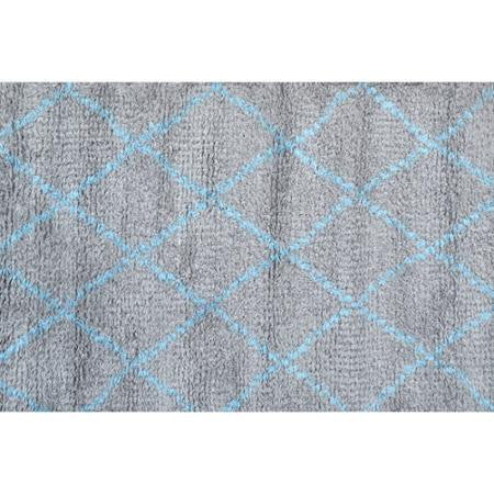 The Rug Market Diamond Blue 1262 Area Rug