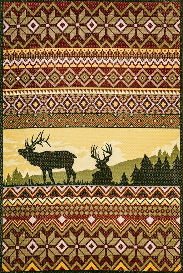 Dynamic Rugs Frontier 5220 Area Rug