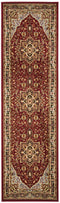 Safavieh Lyndhurst LNH330B Red / Black Rug