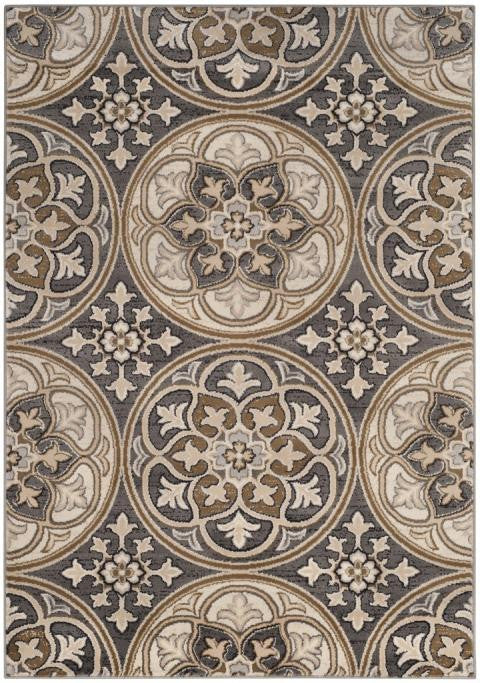 Safavieh Lyndhurst LNH341B Light Grey / Beige Rug