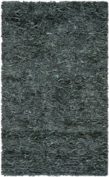 Safavieh Leather Shags LSG511N Grey Rug