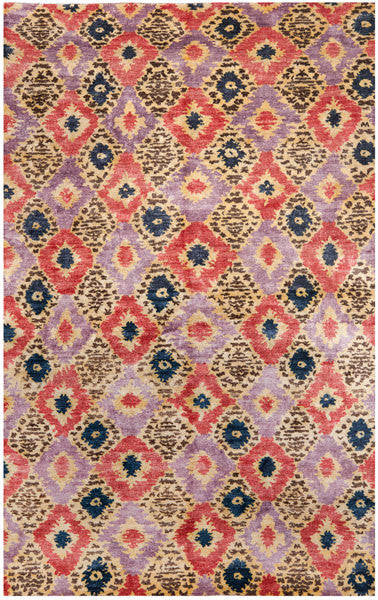Safavieh Luxor LUX161A Purple Rust Rug