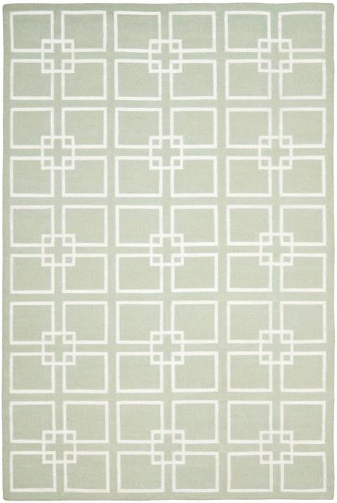 Safavieh Martha Stewart MSR1151D Square Dance Fennel Seed Green Rug