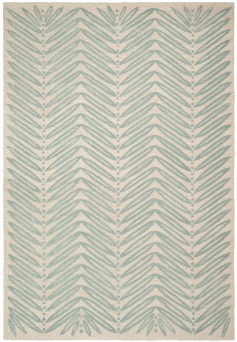 Safavieh Martha Stewart MSR3612C-Chevron Leaf Blue Fir Rug