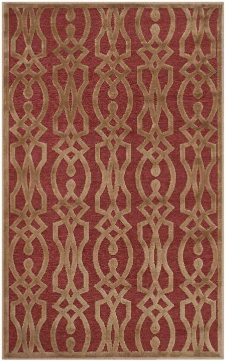 Safavieh Martha Stewart MSR4485-1620 Villa Screen Cinnamon Stick Rug