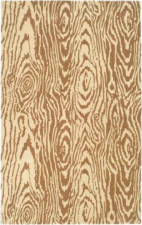 Safavieh Martha Stewart MSR4534A Layered Faux Bois Sequoia Rug