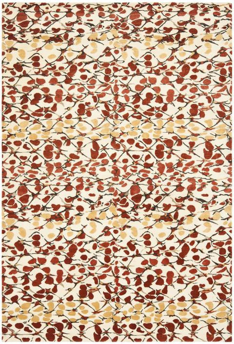 Safavieh Martha Stewart MSR8641B-Abstract Trellis Barn Red Rug