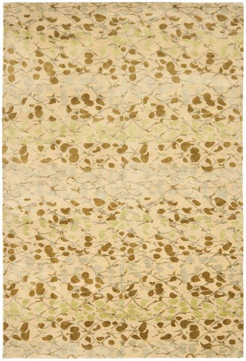Safavieh Martha Stewart MSR8641D-Abstract Trellis Sprout Green Rug