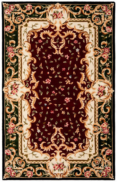 Safavieh Naples NA508C Red / Green Rug